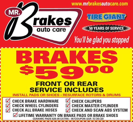 Mr Brakes Auto Care, Roseville, MI | Discount Tires & Car Repair